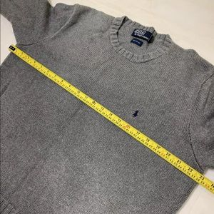 Polo by Ralph Lauren Sweaters - Polo Ralph Lauren Men's Gray Cotton Sweater Large